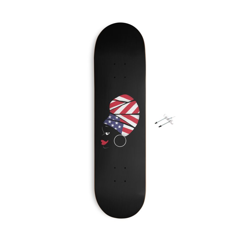 Black American Self-confidence Accessories Skateboard by Freehand