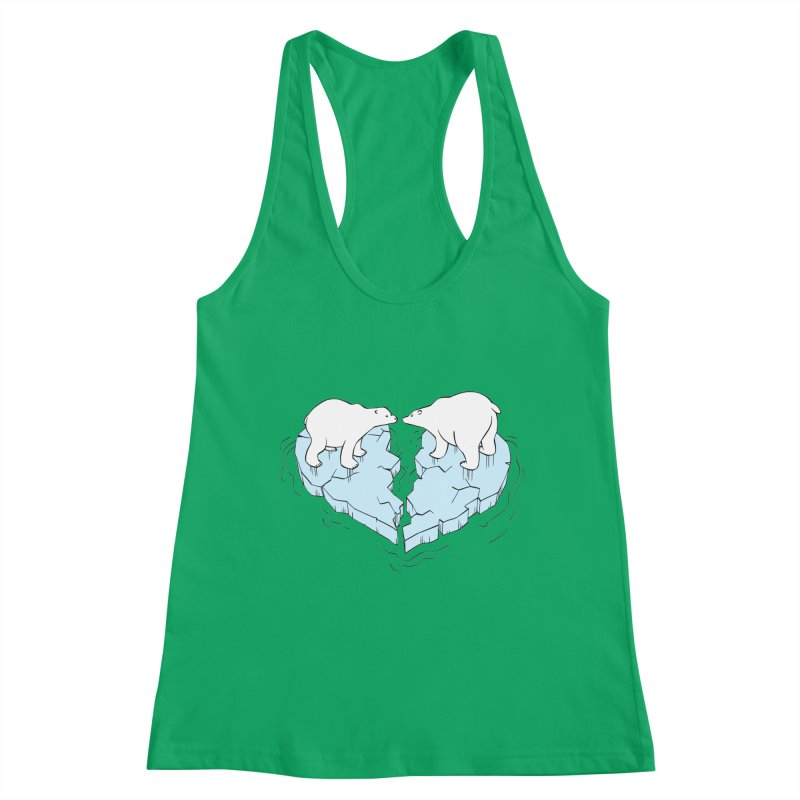 Cracked Crush Women's Tank by Freehand