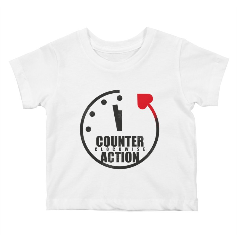Counter (clockwise) Action Kids Baby T-Shirt by Freehand