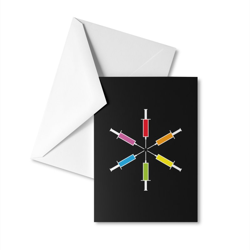 For Every Color Accessories Greeting Card by Freehand
