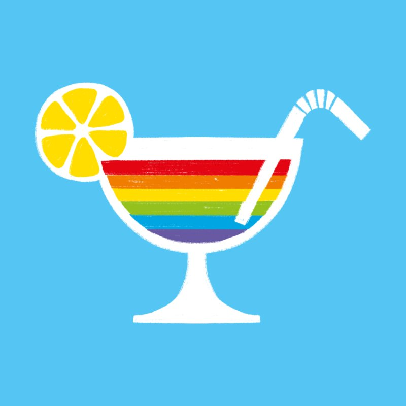 Colorful Cocktail Accessories Greeting Card by Freehand