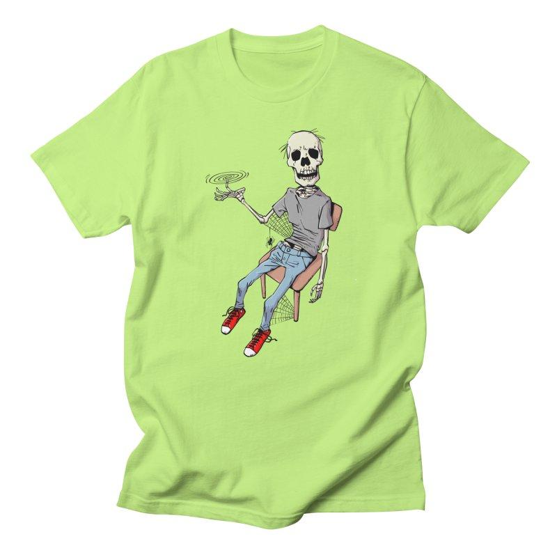Best Fidget Ever in Men's Regular T-Shirt Neon Green by Freehand