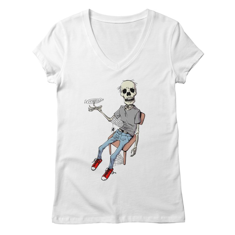 Best Fidget Ever Women's V-Neck by Freehand