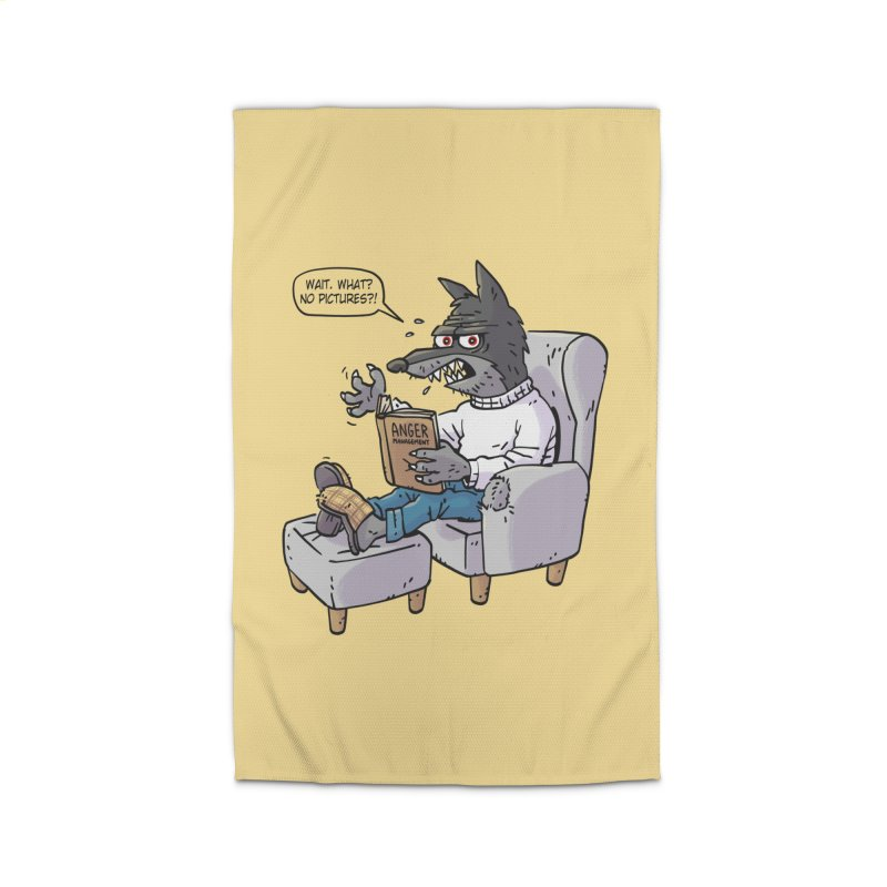 Failed Werewolf Psychology Home Rug by Freehand