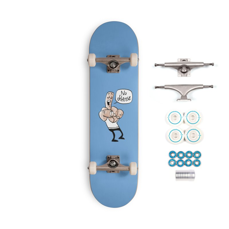 No Offense Accessories Skateboard by Freehand