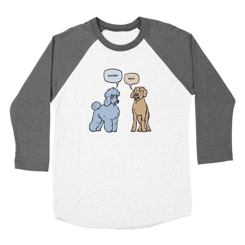 Swearing Dogs Women's Longsleeve T-Shirt by Freehand