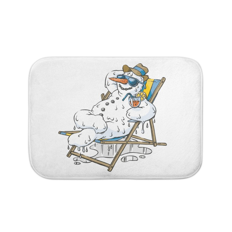 Cool Summer Home Bath Mat by Freehand