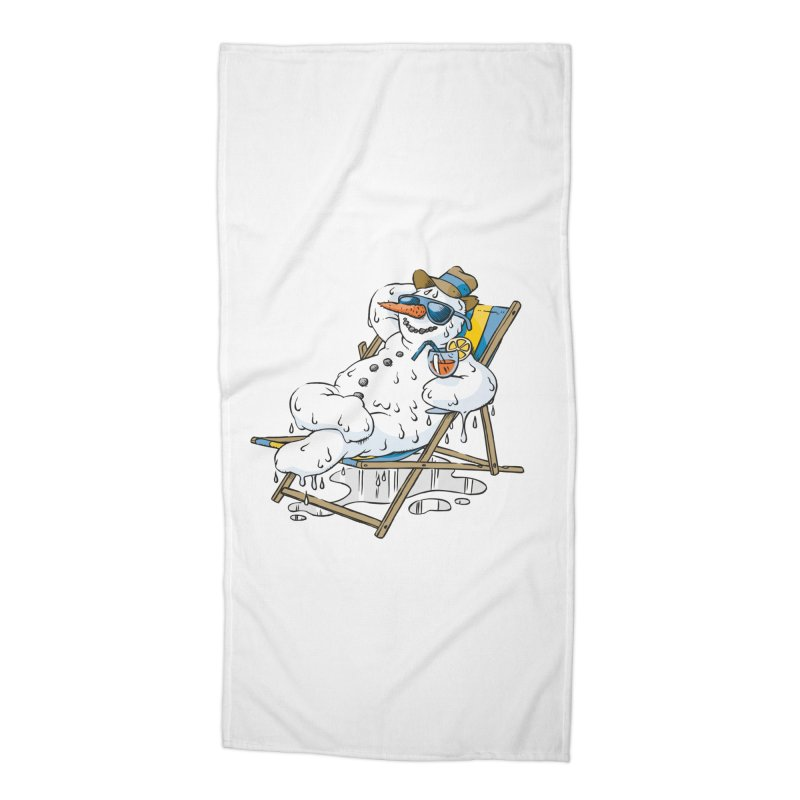 Cool Summer Accessories Beach Towel by Freehand