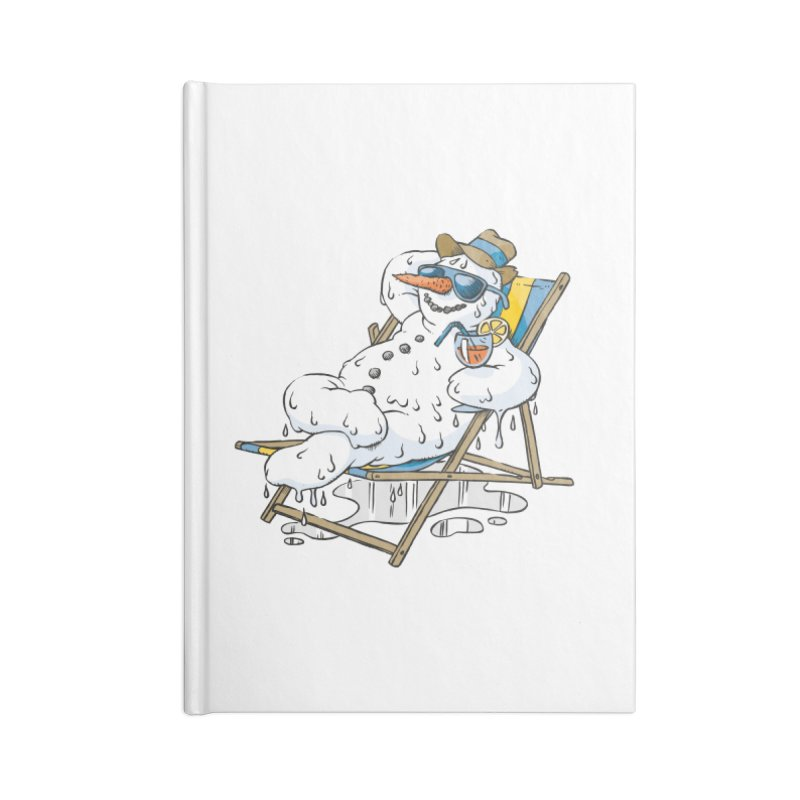 Cool Summer Accessories Notebook by Freehand
