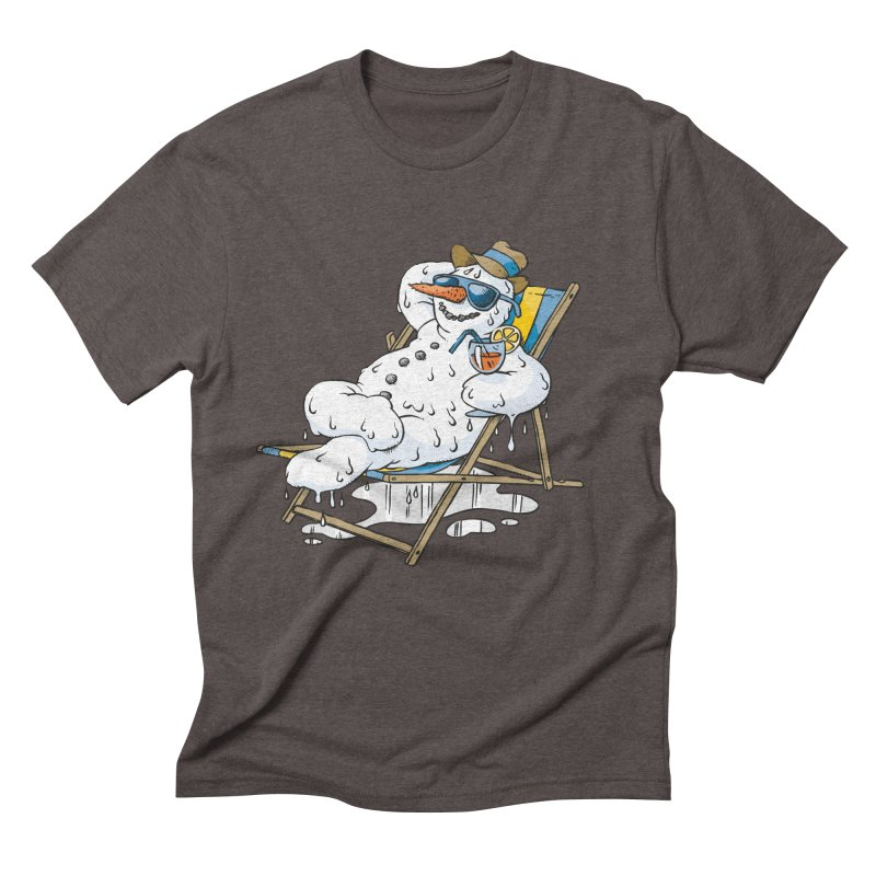 Cool Summer Men's Triblend T-Shirt by Freehand