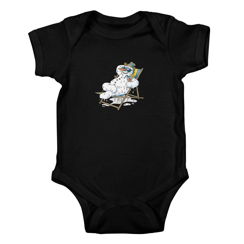 Cool Summer Kids Baby Bodysuit by Freehand