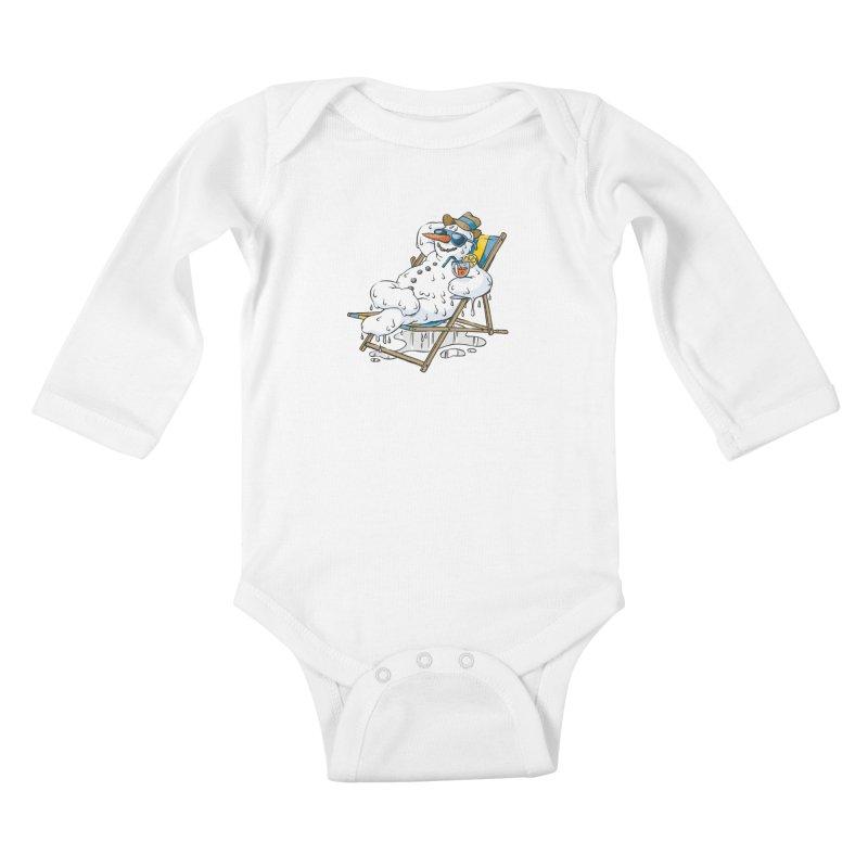 Cool Summer Kids Baby Longsleeve Bodysuit by Freehand
