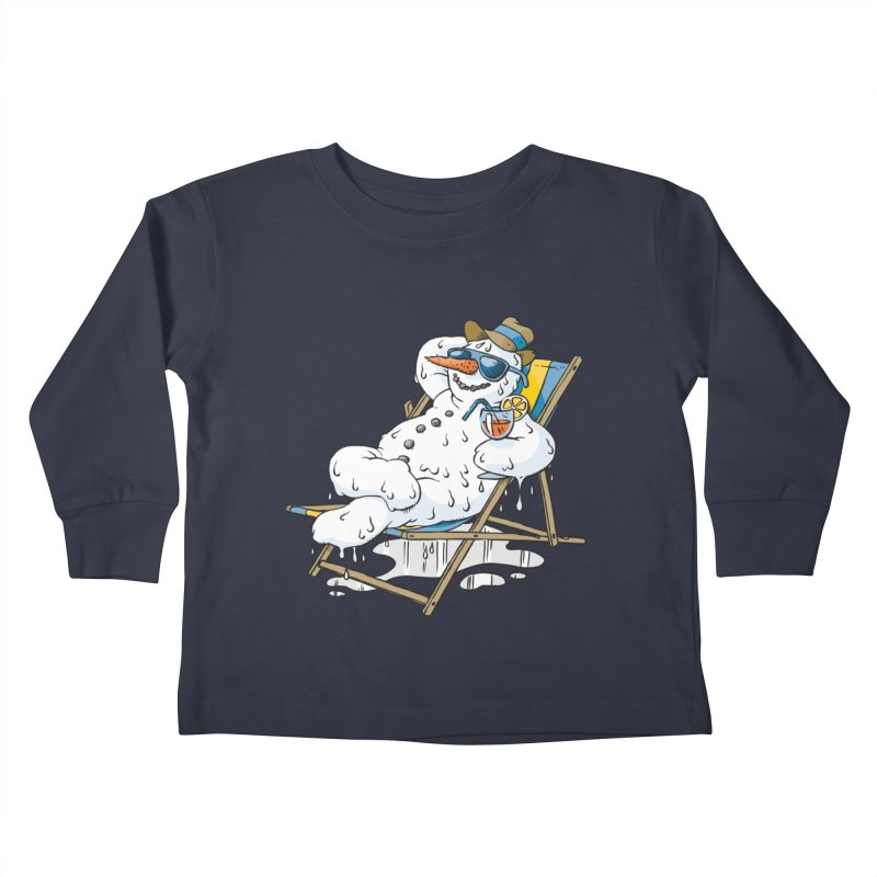 Cool Summer Kids Toddler Longsleeve T-Shirt by Freehand