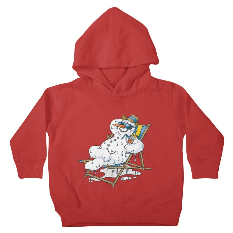Cool Summer Kids Toddler Pullover Hoody by Freehand