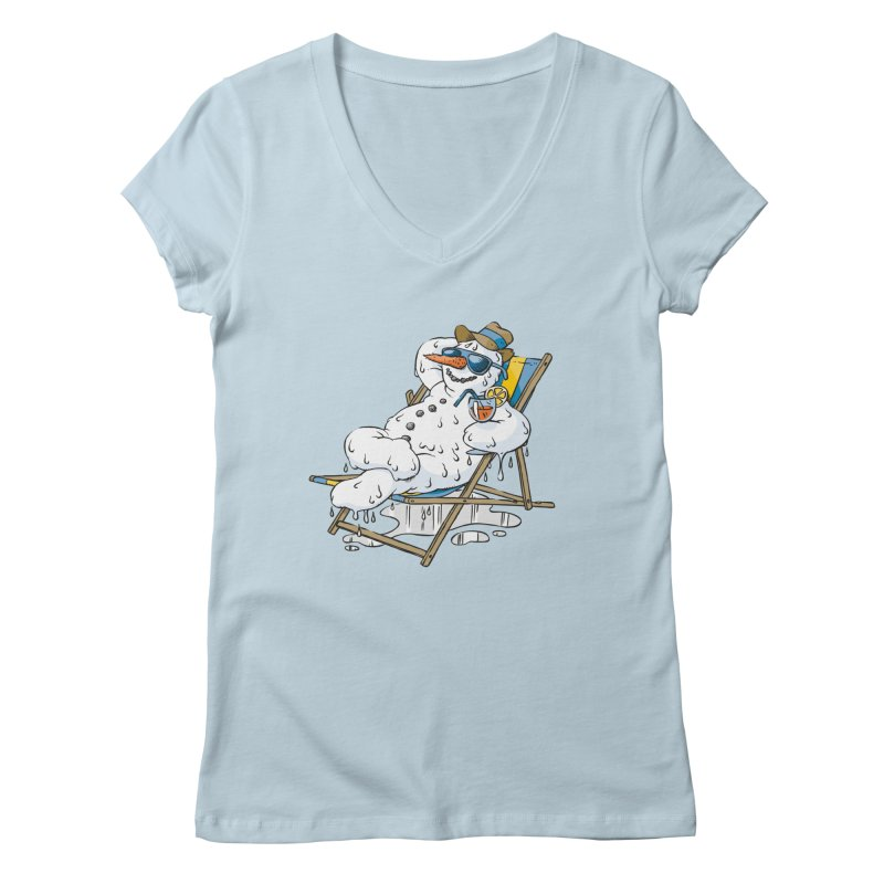 Cool Summer Women's V-Neck by Freehand