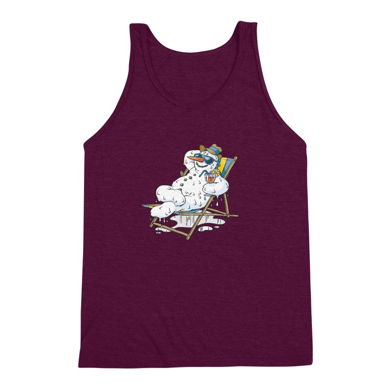 Cool Summer Men's Triblend Tank by Freehand