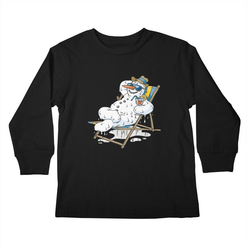 Cool Summer Kids Longsleeve T-Shirt by Freehand