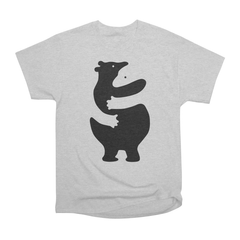 Huggers, black edition Men's T-Shirt by Freehand