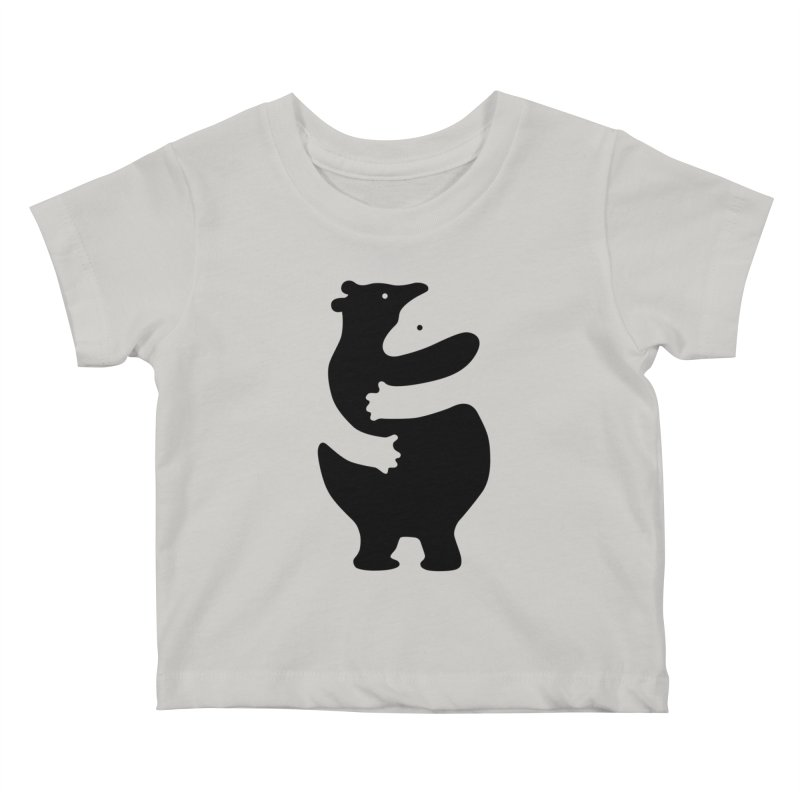 Huggers, black edition Kids Baby T-Shirt by Freehand