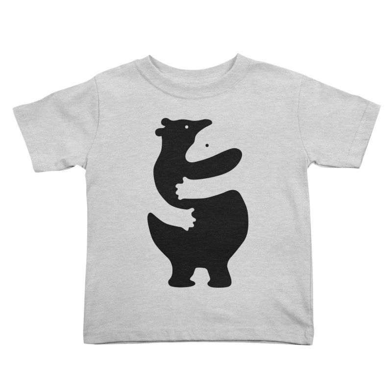 Huggers, black edition Kids Toddler T-Shirt by Freehand