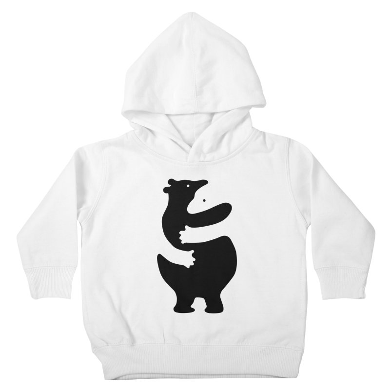 Huggers, black edition Kids Toddler Pullover Hoody by Freehand