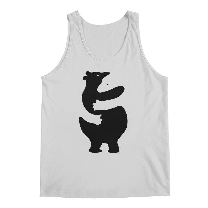 Huggers, black edition Men's Tank by Freehand