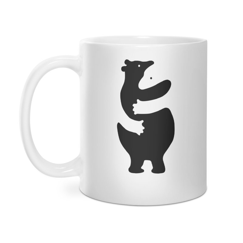 Huggers, black edition Accessories Mug by Freehand
