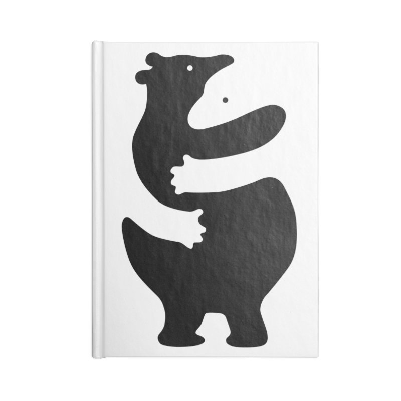 Huggers, black edition Accessories Notebook by Freehand