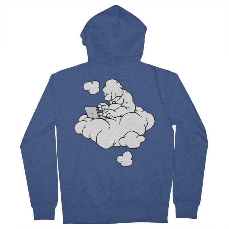 Cloud Computing Men's Zip-Up Hoody by Freehand
