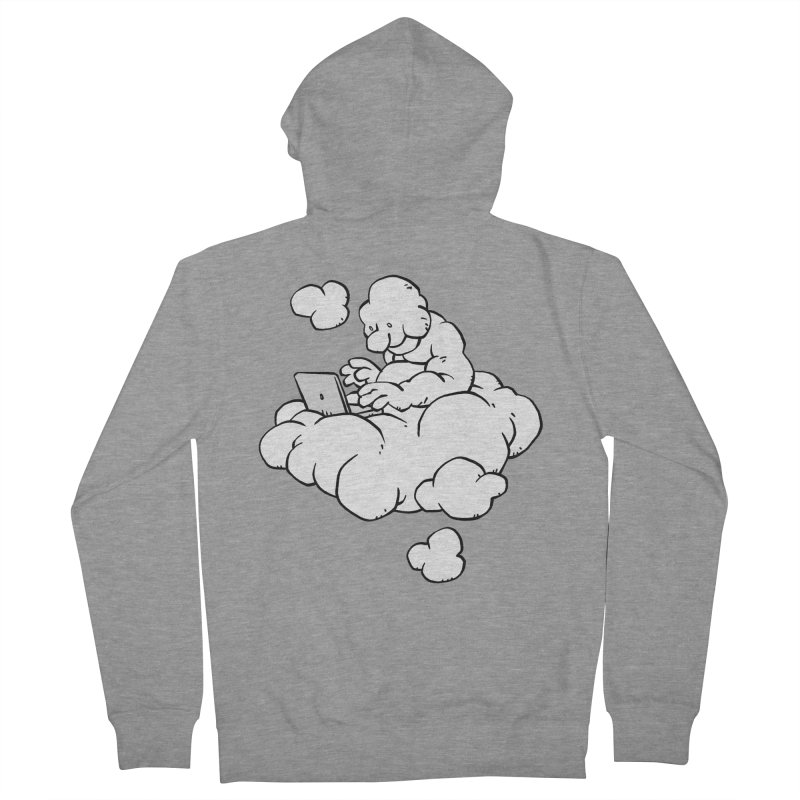 Cloud Computing Men's Zip-Up Hoody by Freehand