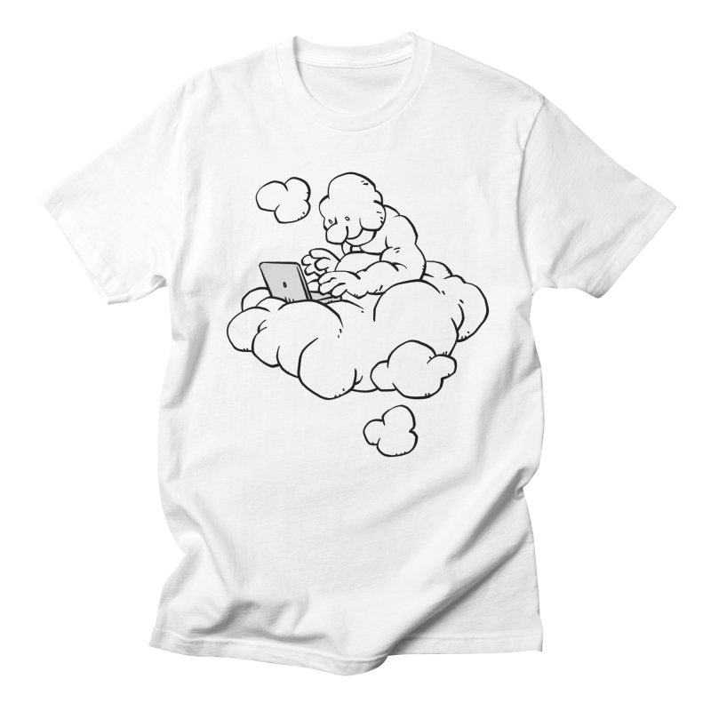 Cloud Computing Men's T-shirt by Freehand