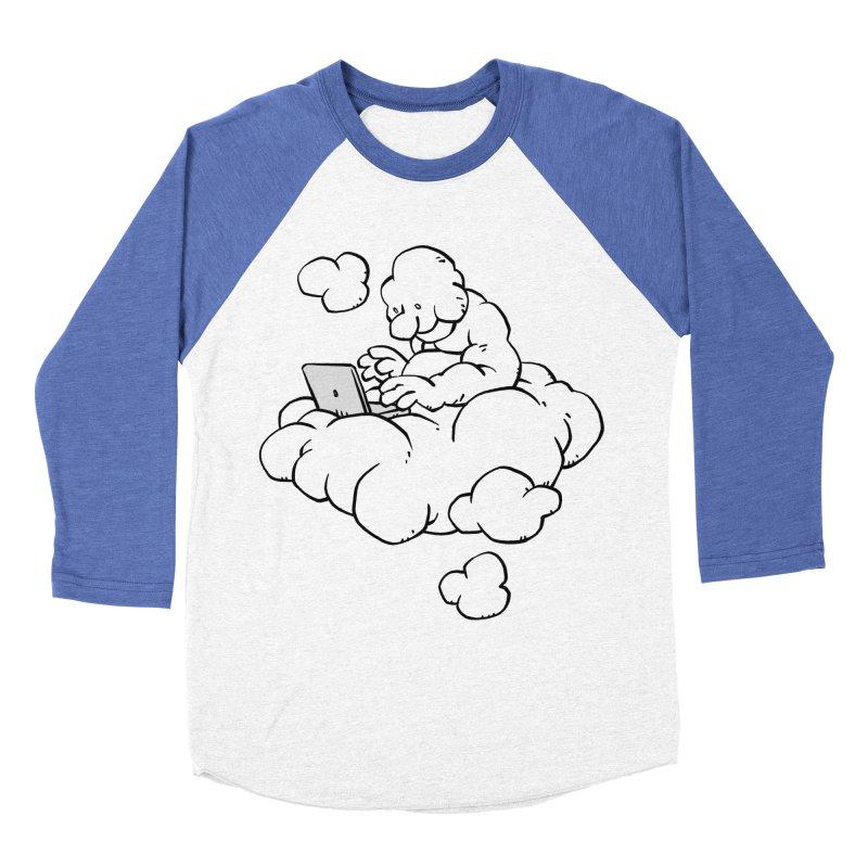 Cloud Computing Men's Baseball Triblend T-Shirt by Freehand