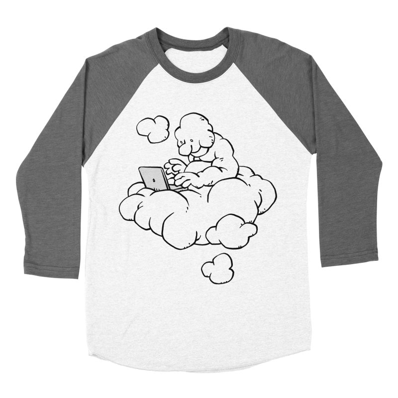 Cloud Computing Men's Baseball Triblend T-Shirt by Freehand
