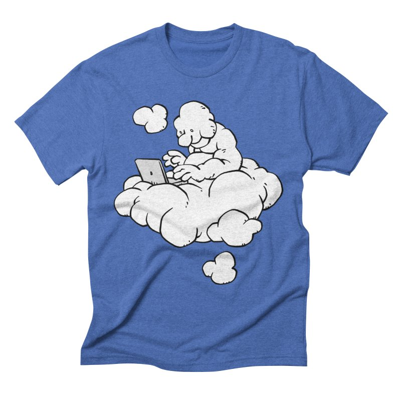 Cloud Computing Men's Triblend T-shirt by Freehand