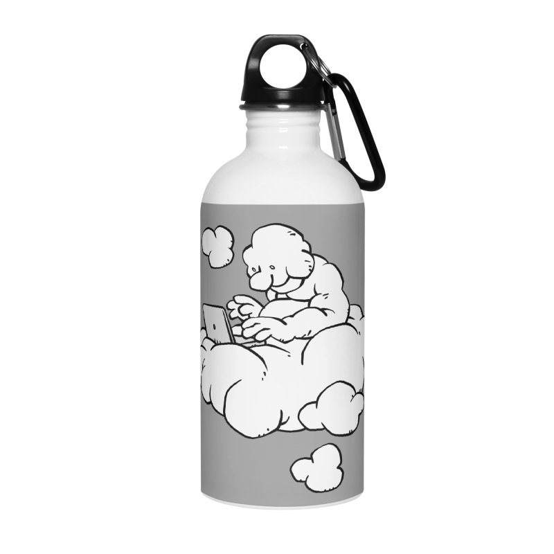 Cloud Computing Accessories Water Bottle by Freehand