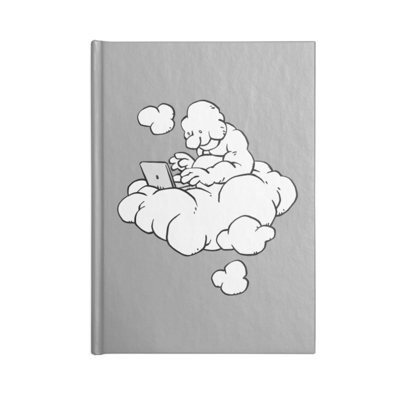 Cloud Computing Accessories Notebook by Freehand