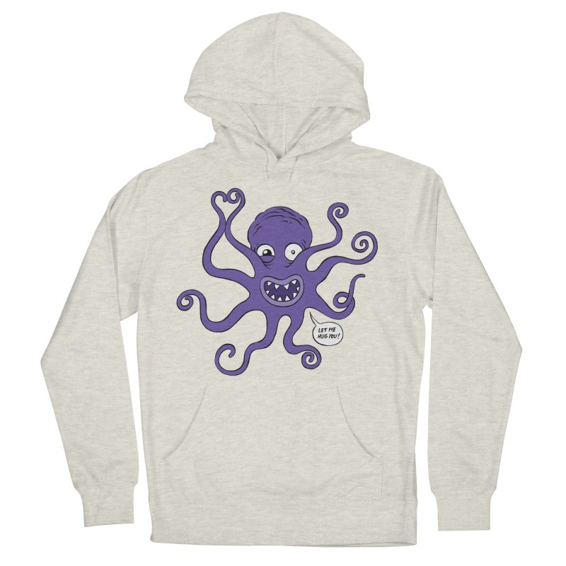 Hugtopus Men's Pullover Hoody by Freehand