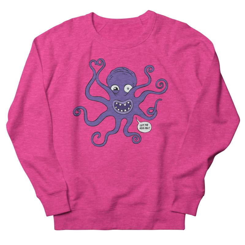 Hugtopus Men's French Terry Sweatshirt by Freehand