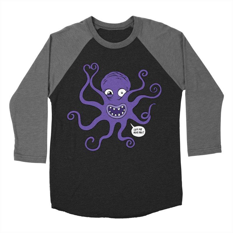 Hugtopus Women's Baseball Triblend Longsleeve T-Shirt by Freehand