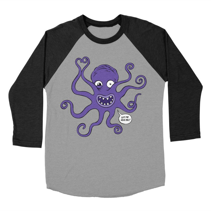 Hugtopus Men's Baseball Triblend T-Shirt by Freehand