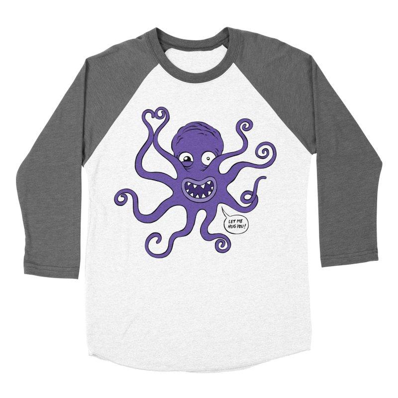Hugtopus Men's Baseball Triblend Longsleeve T-Shirt by Freehand