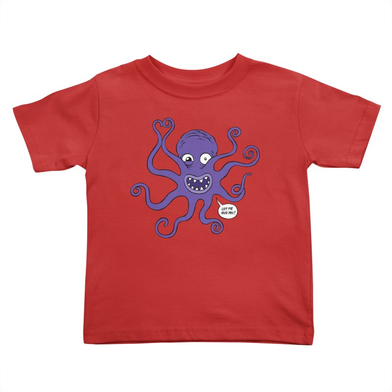 Hugtopus Kids Toddler T-Shirt by Freehand