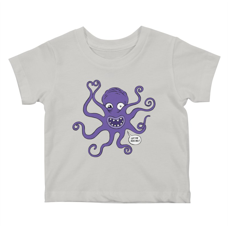 Hugtopus Kids Baby T-Shirt by Freehand