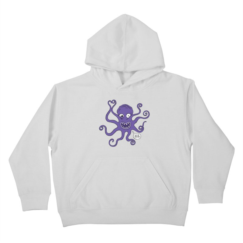 Hugtopus Kids Pullover Hoody by Freehand