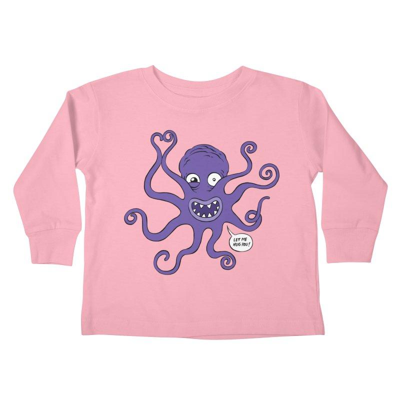 Hugtopus Kids Toddler Longsleeve T-Shirt by Freehand