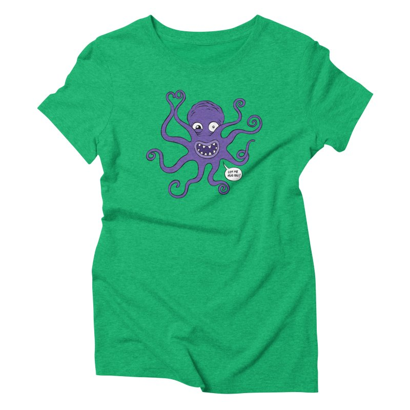 Hugtopus Women's Triblend T-Shirt by Freehand