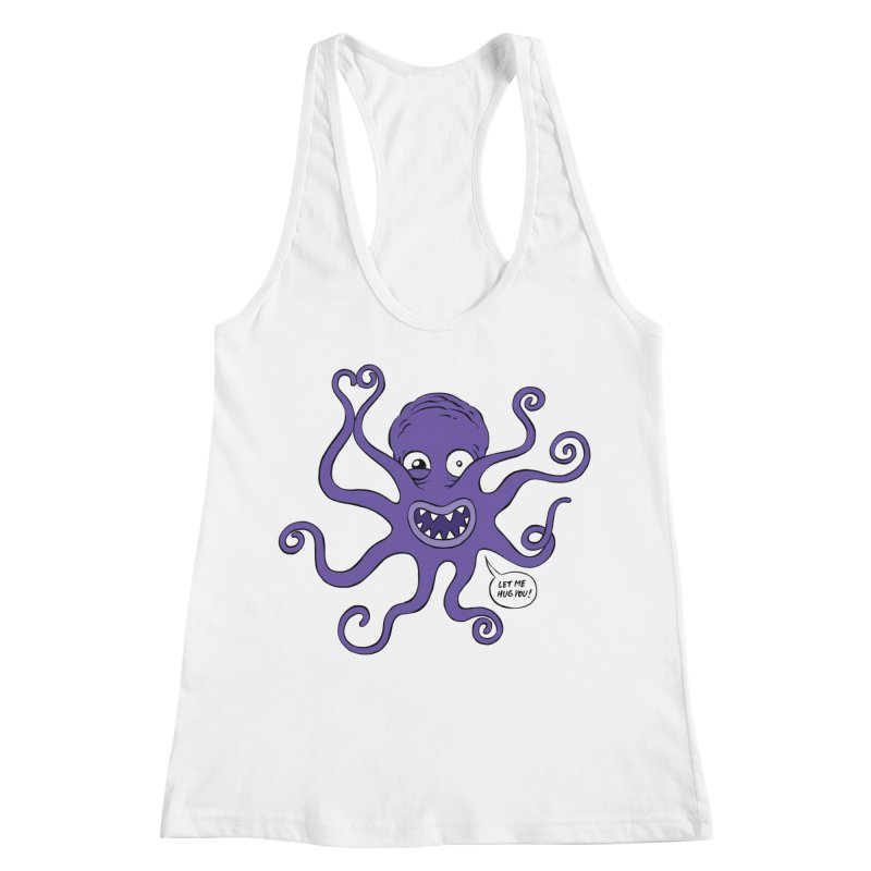 Hugtopus Women's Racerback Tank by Freehand