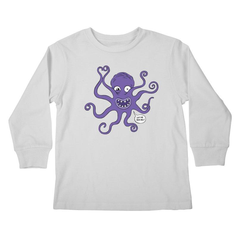 Hugtopus Kids Longsleeve T-Shirt by Freehand