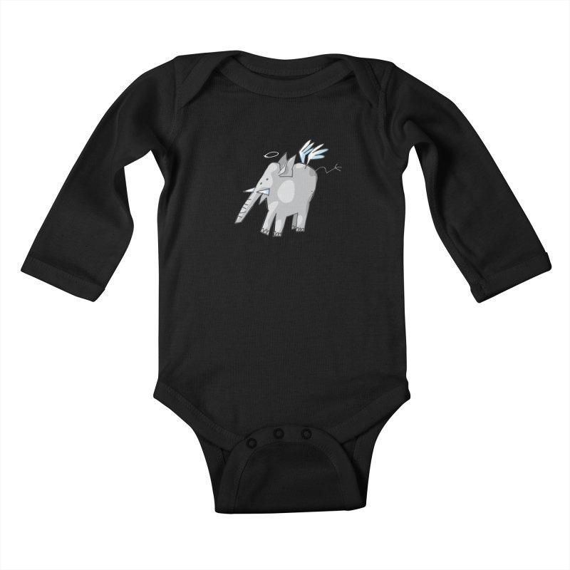 AngelPhant Kids Baby Longsleeve Bodysuit by Freehand