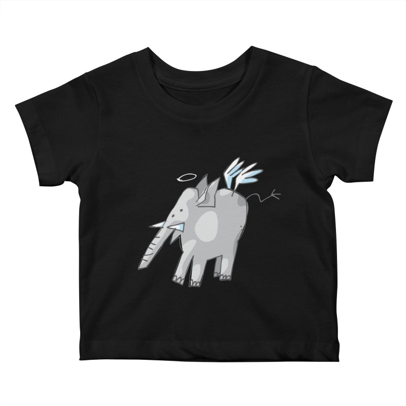 AngelPhant Kids Baby T-Shirt by Freehand